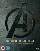 Avengers: 1-4 Complete Boxset Includes Bonus Disk [Blu-ray]