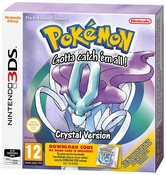 Pokemon Crystal Packaged Download Code (Nintendo 3DS)